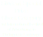 Student Special Prize Ghost Category 3rd International Festival of Advertising in Portuguese Language