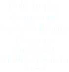 Gold Trophy Causes and Social Solidarity Category Ghost Festival Unpublished Advertising Festival
